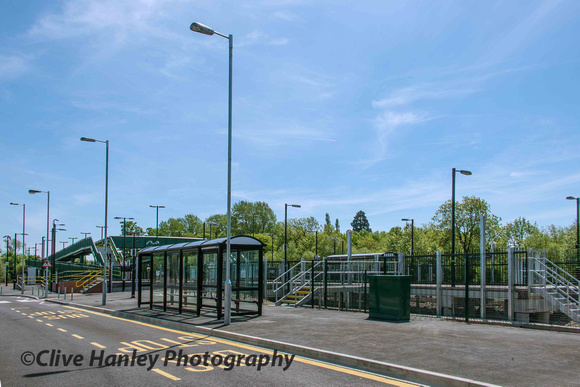 The new Stratford on Avon Parkway station opened on 19th May 2013.