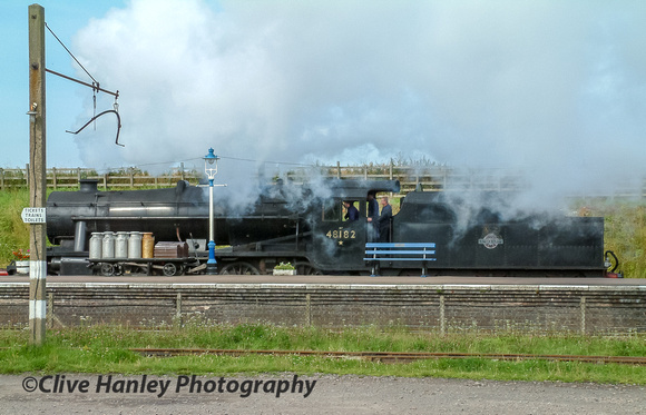 At Quorn we see Stanier 8F no 48305 running as 48182