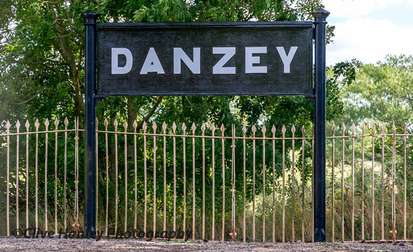 Danzy was my chosen location for the lunchtime run of the Shakespeare Express today.