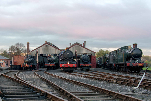 What a stunning line up of Great Western Locomotives....