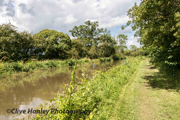 The walk to reach the first location took me along the towpath of The Stratford canal from Wilmcote.