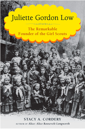 Juliette Low's biography about the founder of the Girl Scouts of the USA is now published.