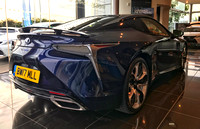 10 August 2017. Lexus LC500 - A First View