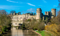 4 March 2017. Warwick Castle & the River Avon
