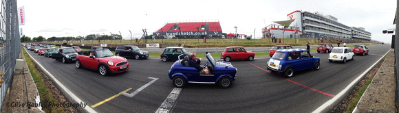 At the end of the event everybody had a chance to drive around the circuit.