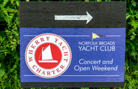 29 May 2017. The Wherry's at the Norfolk Broads Yacht Club