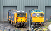 19 May 2017. Severn Valley Railway Diesel Gala