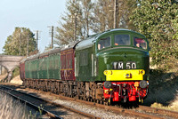 22nd October 2011. D123's 50th Birthday at the GCR