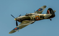 21 September 2014. An awesome Hawker Hurricane display at Southport