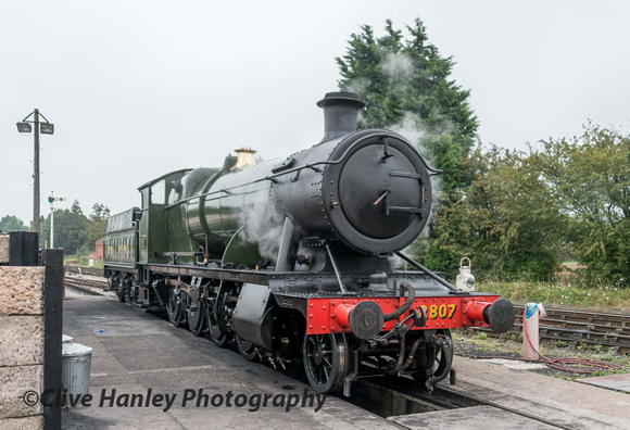 In service today was GWR 2-8-0 no 2807.