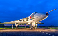 Avro Vulcan B2 XM655 is based at Wellesbourne airfield near Stratford upon Avon. Open to visitors on Saturdays.