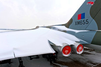 18 January 2013. Vulcan in the snow.