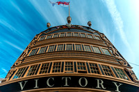 2 June 2017. HMS Victory. Nelson's Flagship