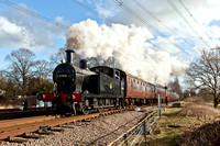 18th February 2012. A wet & then sunny GCR