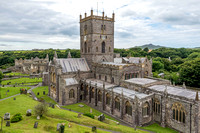 22 July 2017. St Davids Cathedral