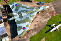 13 October 2012. XM655 from the air.