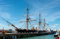 3 June 2017. HMS Warrior at Portsmouth