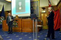 11 November 2013. Arctic Convoy Lecture by Captain Richard Woodman RN