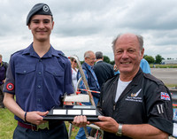 15 June 2014. W&W at Wellesbourne. - Presentation to Air Training Corps Cadets
