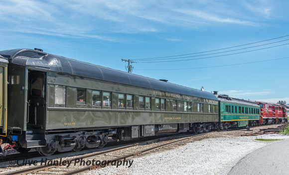 I was admiring this Pullman car - Dover Harbor - when a chap appeared at the door and invited me in.