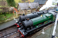 "5 March 2017. ""Along Birkenhead Lines"" Steam gala at the Llangollen Railway"