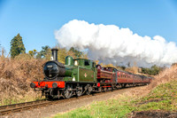 20 March 2015. Severn Valley Railway 50th Anniversary Gala