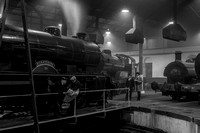 14 March 2015. Barrow Hill Roundhouse - INSIDE 1