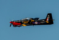 21 September 2014. Tucano T1 at Southport Air Show.