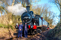 25 January 2017. HRH Prince Charles visit to the Mountsorrel Railway I