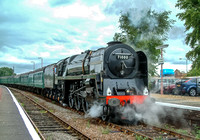 ARCHIVES - 2 July 2005. 71000 Duke of Gloucester - Alton to Stratford upon Avon.